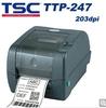 TSC TTP-247 203dpi thermal transfer PET barcode label printer