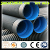 Hot sale flexible corrugated black pvc pipe from China