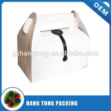 true manufacture in China paper hot dog box