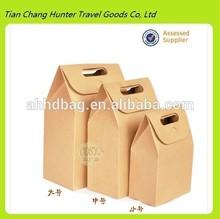 wholesale brown kraft paper handmade handbag
