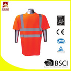 fluorescent high quality reflective safety tee shirts