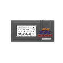 Agua fx2000f totalizador de flujo del medidor, registrador sin papel