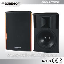 SOUNDTOP 2 Way powerful full range professional speaker SF152 PLUS