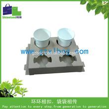 Hot drink holder paperboard coffee trays E-flute board