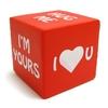stress ball, 6*6cm anti stress PU cube, stress dice.