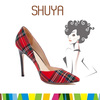 Colorful high heel ladies shoes made in China exotic shoes indonesia
