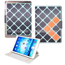 New PU leather tablet folio case for iPad air 2, iPad mini 2