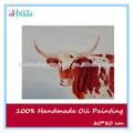 dibujos abstractos toro para pintar y la pintura al óleo