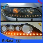 Kia K5 look 12/13 leds flexible DRL with turning signal yellow and white