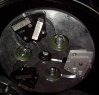 4 headed Concrete Polisher / Grinder / Mendel Pro Planetary machine planetary floor grinding machine