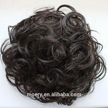 Fashion Synthetic Hair Bun Chignon Hair Pieces Bun Brown