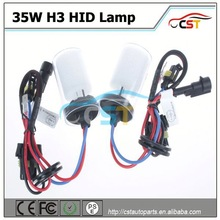 Factory price HID H3 70W 3500LM xenon lamp bulb 35w hid lamps