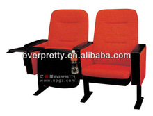 Modern Movie Seats Chairs with Drink Holders, Folding Stadium Seat Chair Design