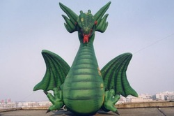 Custom inflatable giant dragon for sale