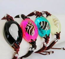 2015 new products for promotions fancy insect flower sea shell amber bead hand woven bracelets custom logo engrave amber jewelry