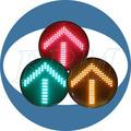 a prueba de agua chino flecha de señales de tráfico