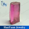 Uncut Pink Cubic Zirconia Lab Created Raw Gemstone