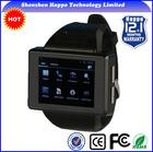New 2014 mtk 6250 smart watch phone MTK6515 Android 4.1 Dual core RAM512M ROM512M watch Smart phone