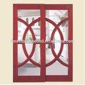 vidro deslizante de madeira pvc porta da cozinha