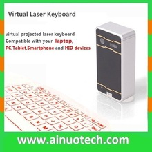 bluetooth laser keyboard mouse projection virtual keyboard for mibile phone