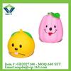 New design plastic fruit toy soft vinyl toys