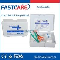 Auto Care &Automobile First Aid Kit Contents CE FDA