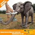 de alta calidad de los animales animatronic elefante africano