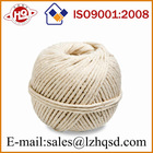 100% cotton,natural white 2mm thick cotton twine