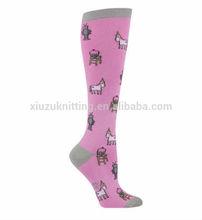Trifecta Knee High Pink Girl Socks