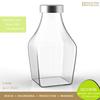 Lead Free 5oz Pyrex Transparent Honey Container
