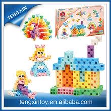 200pcs colorful building block brick toys