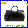High quality trendy men leather travel bag