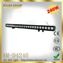 240W 39.1 Inch 9-60V DC 8degree Spot/25degree flood/Combo beam off road LED light bar