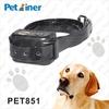 Fashion Automatic Waterproof Dog Electric Shock Anti Bark Collar with Adjustable TPU Strap