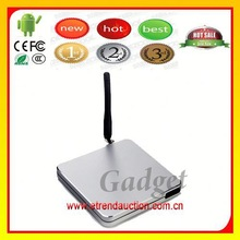 Fashion Android TV Box.4 1.8GHz 1080P Full HD 1080P Andriod Quad Core Direct TV Set Top Box CR11S MSN,Facebok,Skype,Video Call