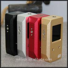 100 watt Box Mod Gi2 Adjustable Voltage Multi Color Fit with 18650
