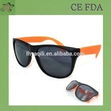 Zhejiang Taizhou glasses hot sale promotion true color wayfarer sunglasses with your logo