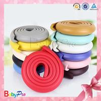 2014 Hot Sale Colorful NBR Custom Foam Corner Protector Plastic Rubber Bumper Strip