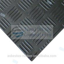 Ribbed Rubber anti slip bathroom Flooring mat