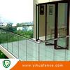 outdoor glass balustrade