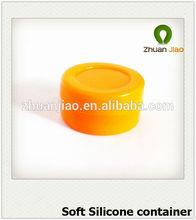 2014 hot selling non stick fda silicone dabber jar for concentrate