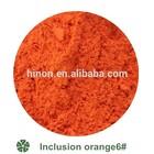 Inclusion Orange pigment ceramics color color ceramic
