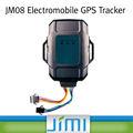 Jimi posição gps, excesso de velocidade, vibração de combustível e baixa função do alarme fácil deinstalar rastreador gps do carro jm08