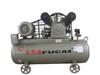 Free oil portable AC power belt driven piston air compressor