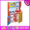 new promotional wooden kitchen toy,intelligent wooden kitchen toy set W10C092