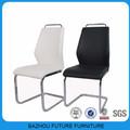 muebles modernos silla de comedor metálica para el hogar