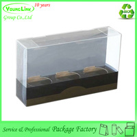 High quality custom clear holding plastic boxes for tea cups