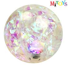 cixi city 55 65 75 85 100mm Diameter Hi Bouncing Small Glitter Ball
