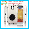 Fashion Lord of the Rings Shockproof Combo Mobile Phone Case for Samsung Note 3