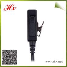 covert acoustic tube type communication lightweight headset
